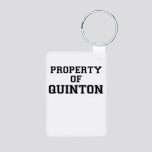 Property of QUINTON Keychains