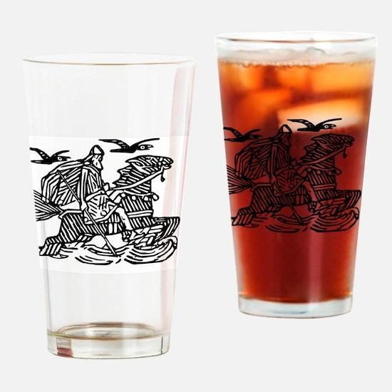 Unique Odin Drinking Glass