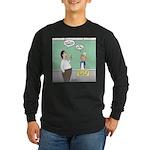 Large No. 2 Long Sleeve Dark T-Shirt