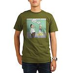 Large No. 2 Organic Men's T-Shirt (dark)