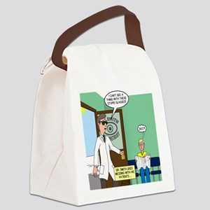 Tinted-Glasses Problem Canvas Lunch Bag