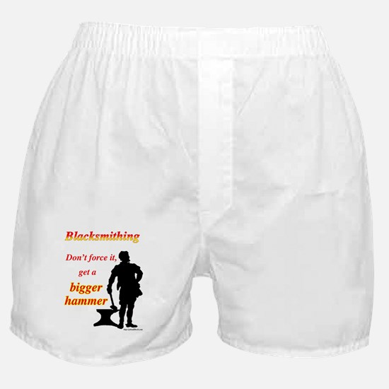 Get a bigger hammer Boxer Shorts