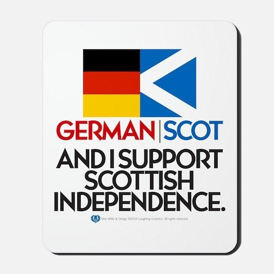 German/Scot Mousepad
