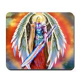 Archangel michael Classic Mousepad