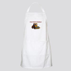 I don't roll on Shabbos BBQ Apron
