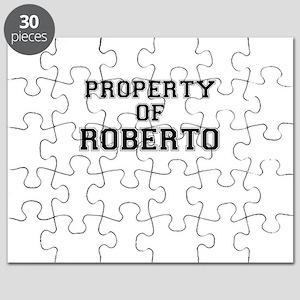 Property of ROBERTO Puzzle