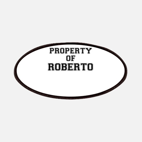 Property of ROBERTO Patch