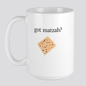 got matzah? Large Mug