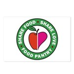 Share Food Share Love Logo Postcards (Package of 8
