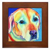 Labrador retriever Framed Tiles
