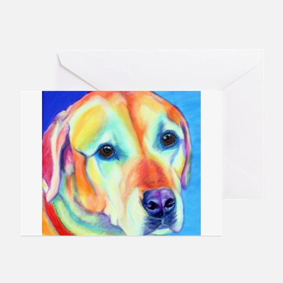 Yellow Lab Greeting Cards (Pk of 10)
