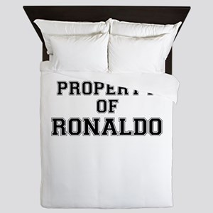 Property of RONALDO Queen Duvet