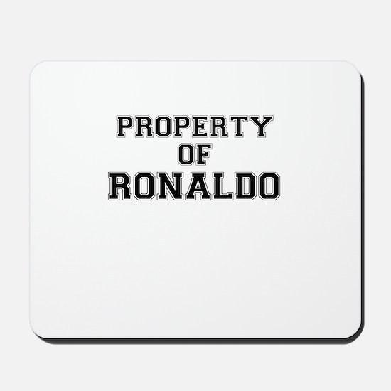 Property of RONALDO Mousepad