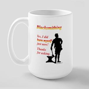 Yes I Burned Myself Large Mug