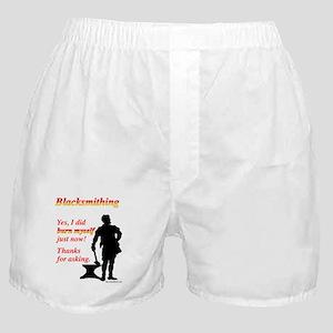 Yes I Burned Myself Boxer Shorts