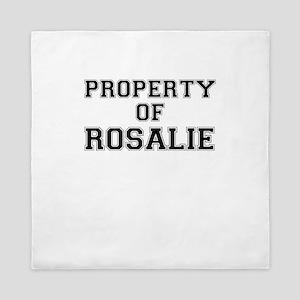 Property of ROSALIE Queen Duvet