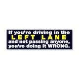 "Left lane 3"" x 10"""
