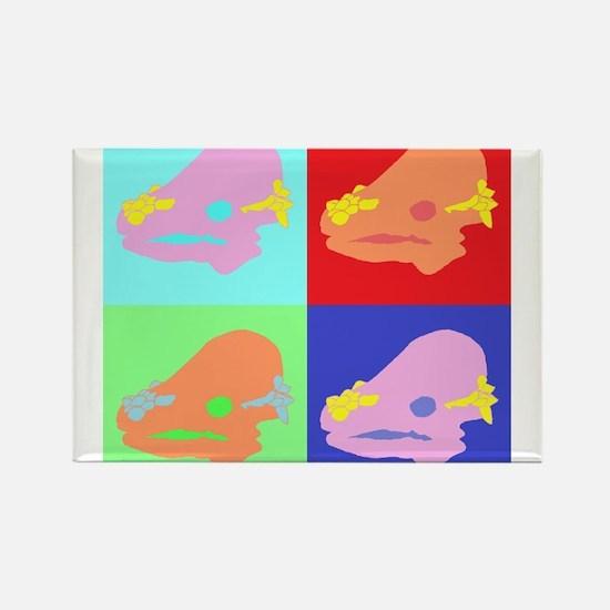 Pachycephalosaurus (Colour) Magnets