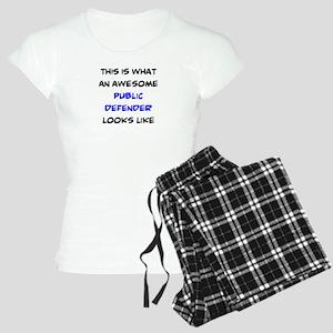 awesome public defender Women's Light Pajamas