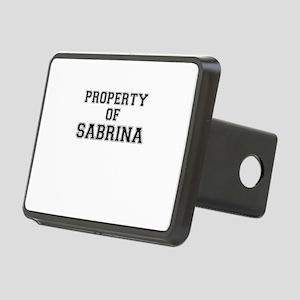 Property of SABRINA Rectangular Hitch Cover