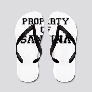 Property of SANTINA Flip Flops