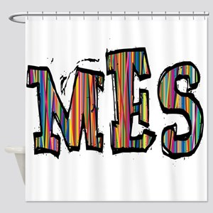MES107 Shower Curtain