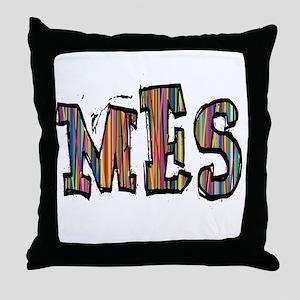 MES107 Throw Pillow