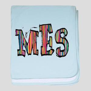 MES107 baby blanket