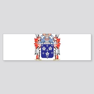 Darcy Coat of Arms - Family Crest Bumper Sticker