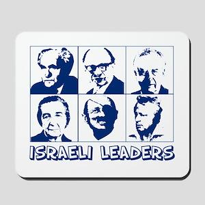 israel leaders Mousepad