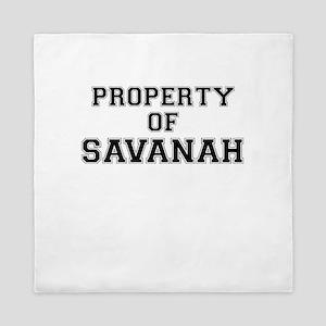 Property of SAVANAH Queen Duvet