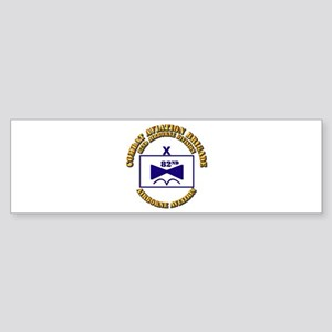 Combat Aviation Bde - 82nd AD Sticker (Bumper)