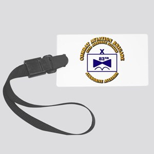 Combat Aviation Bde - 82nd AD Large Luggage Tag