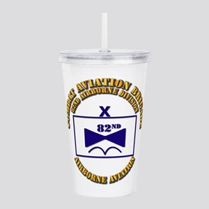 Combat Aviation Bde - Acrylic Double-wall Tumbler