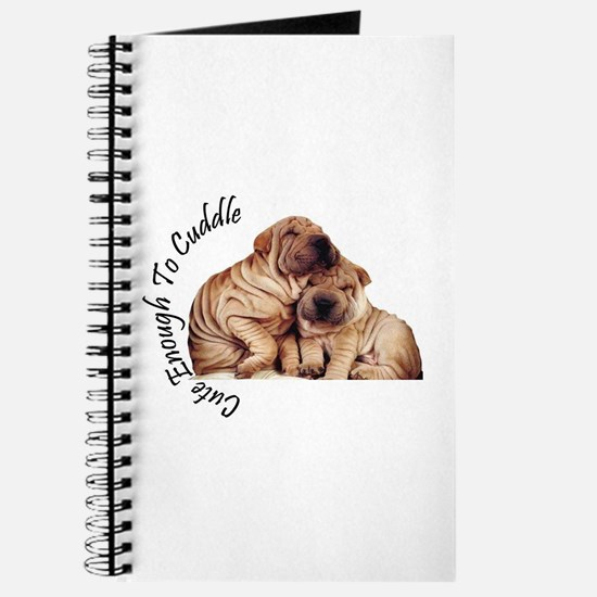 Cute Sharpei Journal