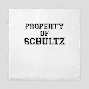 Property of SCHULTZ Queen Duvet