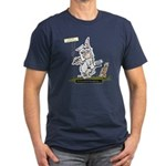 Myths Bunny Man Men's Fitted T-Shirt