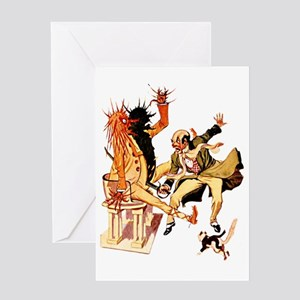 Wizard Cut the Sorcerer Greeting Card