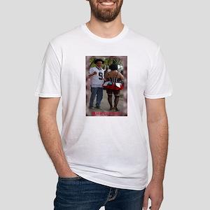Mardi Gras Revelers Fitted T-Shirt