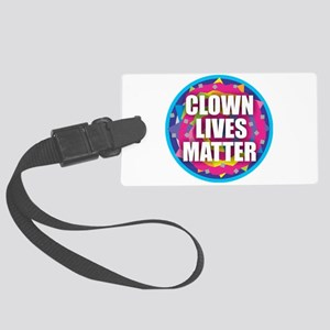 Clown Lives Large Luggage Tag
