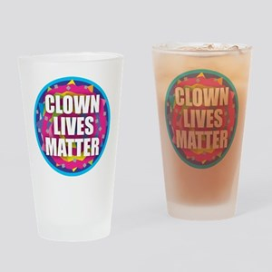 Clown Lives Drinking Glass