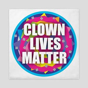 Clown Lives Queen Duvet