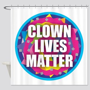 Clown Lives Shower Curtain