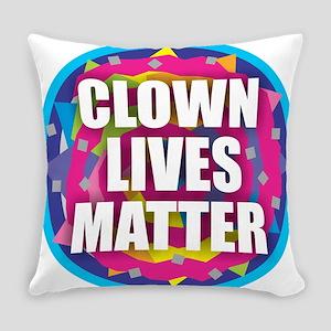 Clown Lives Everyday Pillow