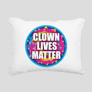 Clown Lives Rectangular Canvas Pillow
