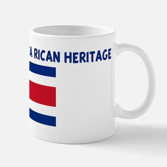PROUD OF MY COSTA RICAN HERIT Mug