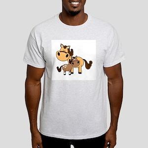 Mama and Baby Horse T-Shirt
