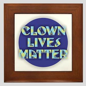 Clown Lives Framed Tile