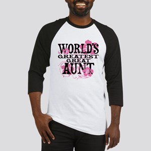 Great Aunt Baseball Jersey