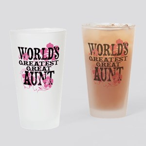 Great Aunt Drinking Glass
